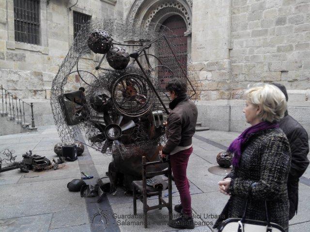Bici arte Salamanca